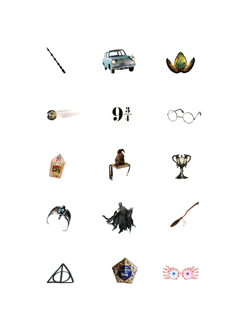 54 Tumblr These Would Make Excellent Harry Potter Tattoos Fandom