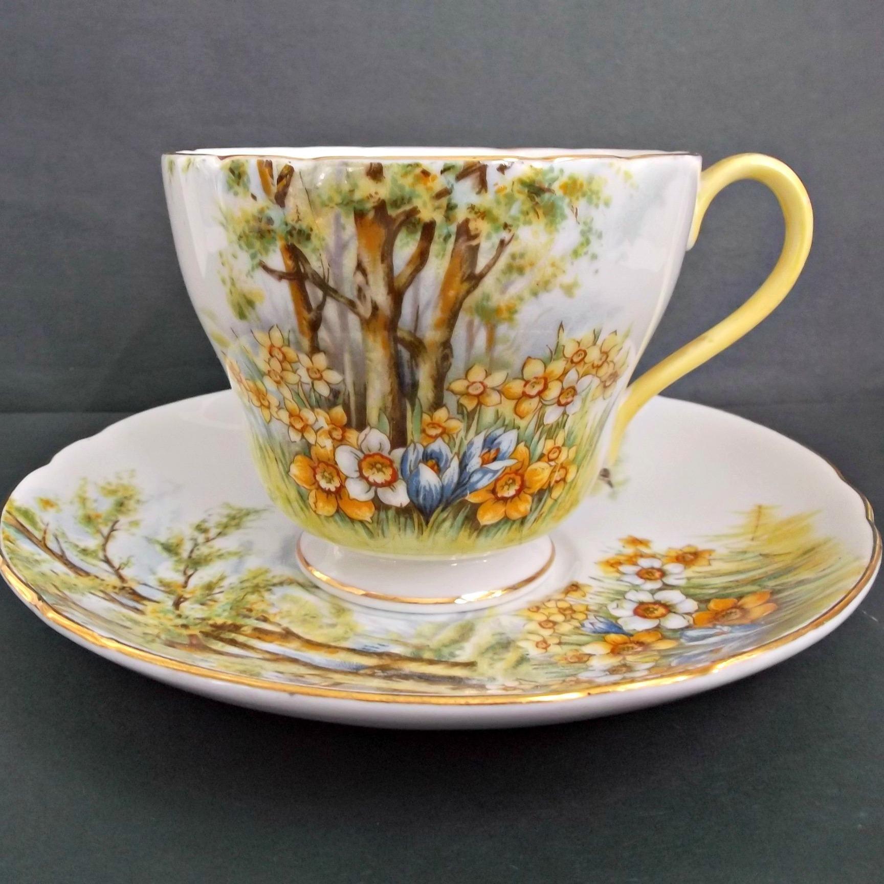 Here is a pretty vintage Shelley, England, fine bone china