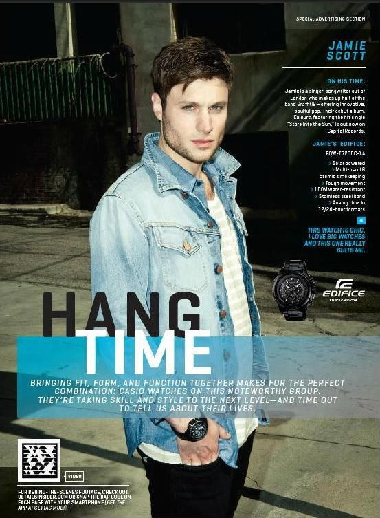 Jamie Scott in Details Magazine, June/July 2012.  Love love love