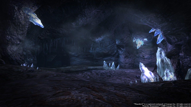 新ダンジョン「蒼の洞窟」 スクリーンショット | ゲーム背景 ...