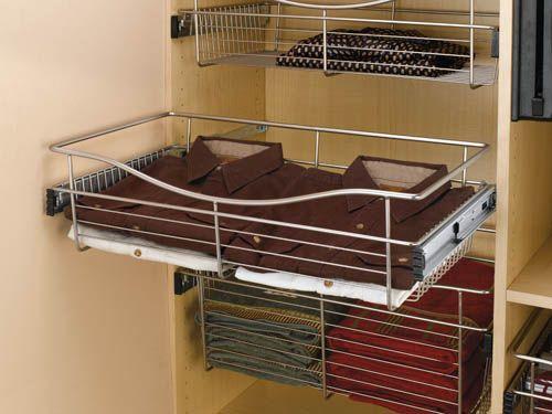 Pull Down Pants Rack | Accessories Tie Rack Belt Rack Pant Rack Pull Down  Closet Rod