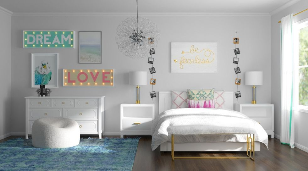 Een Moderne Makeover : 2 teen rooms get milestone makeovers kids pinterest room