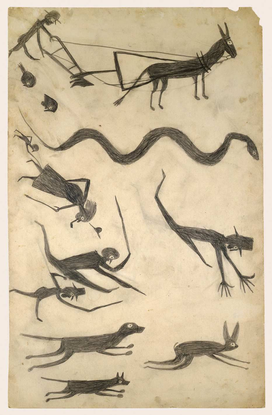Bill Traylor Deserves to Be Exalted Alongside Art'