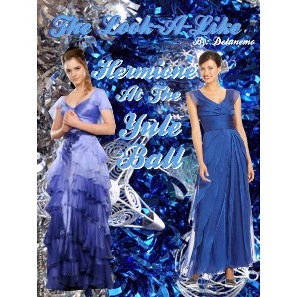 The Look-a-Like: Hermione Granger's Yule Ball Dress in ...