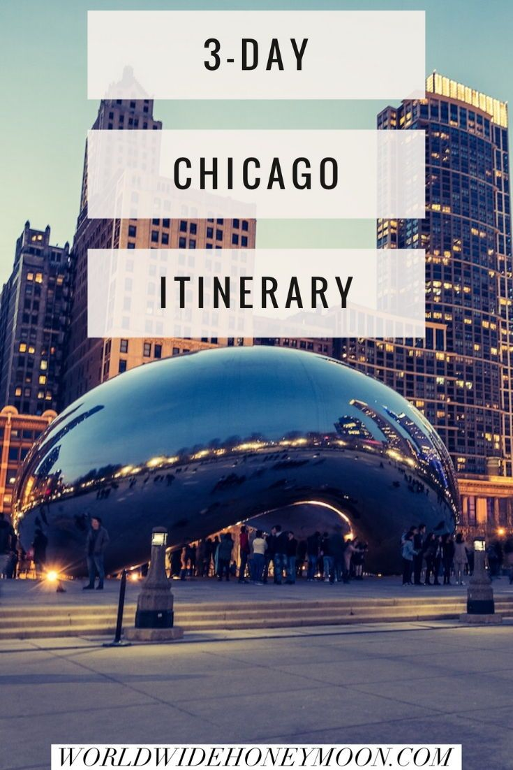Visting Chicago? Don't travel there without reading this perfect 3-day Chicago itinerary including where to stay, things to do in Chicago, and more! #chitown #windycity #windycitytravels #chicagotravel #travelchicago #choosechicago #explore