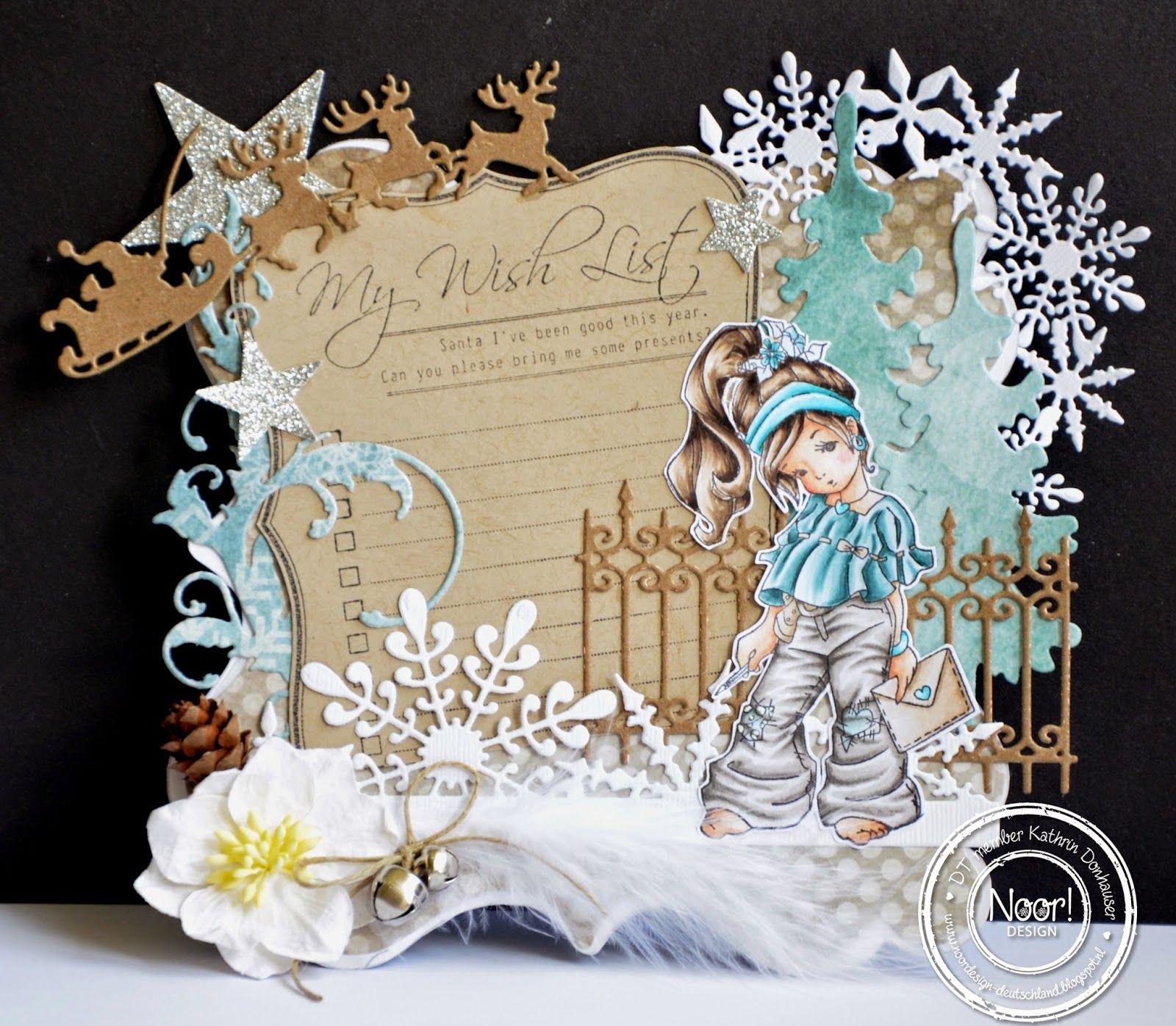 Pin by gurkiss gurkissan on scrapbooking jul christmas pinterest basteln basteln - Niedliche weihnachtskarten ...