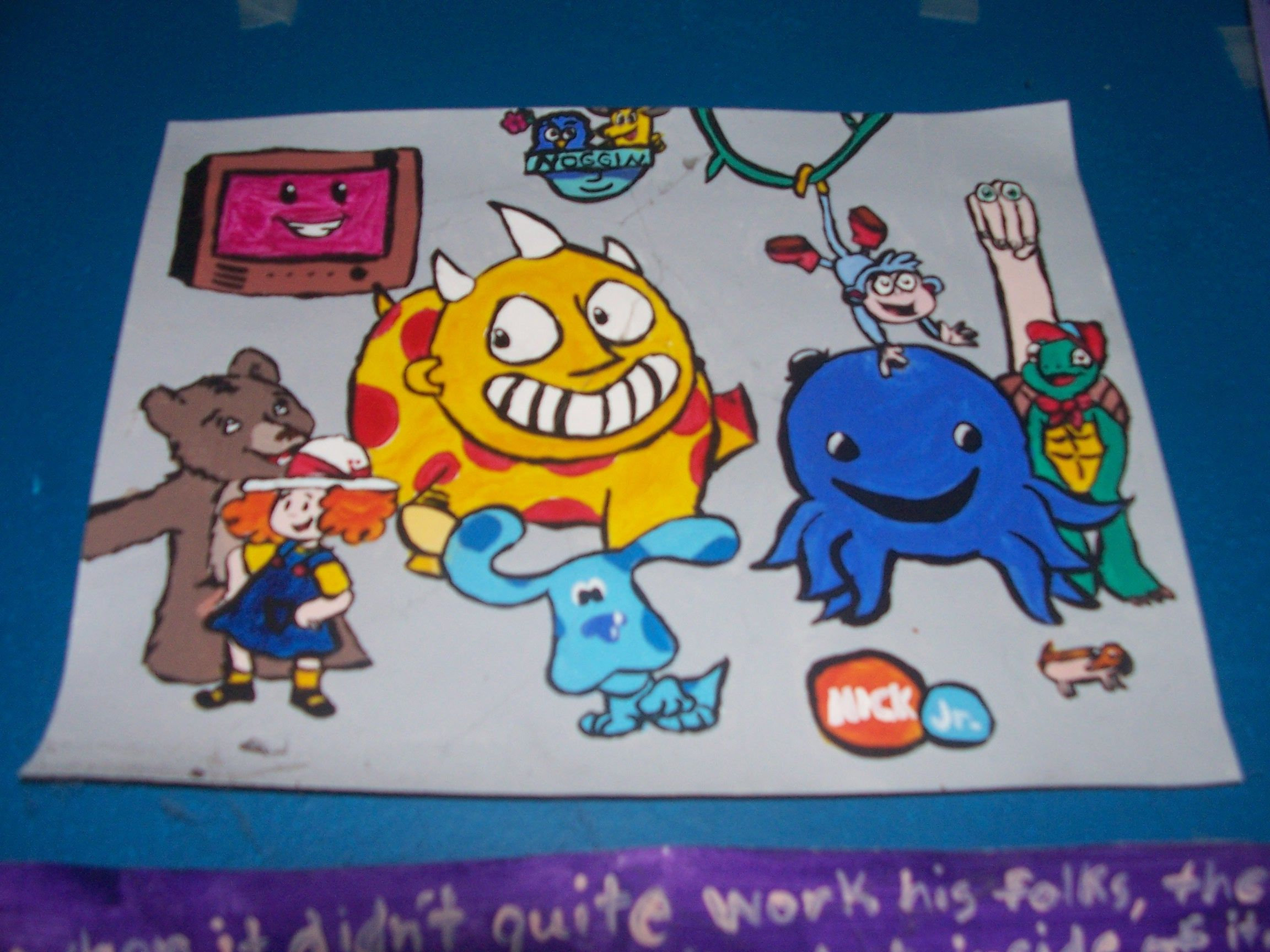 my favorites from nick jr and noggin little bear maggie and the