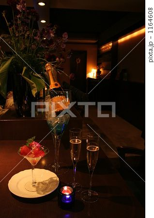苺とシャンパン