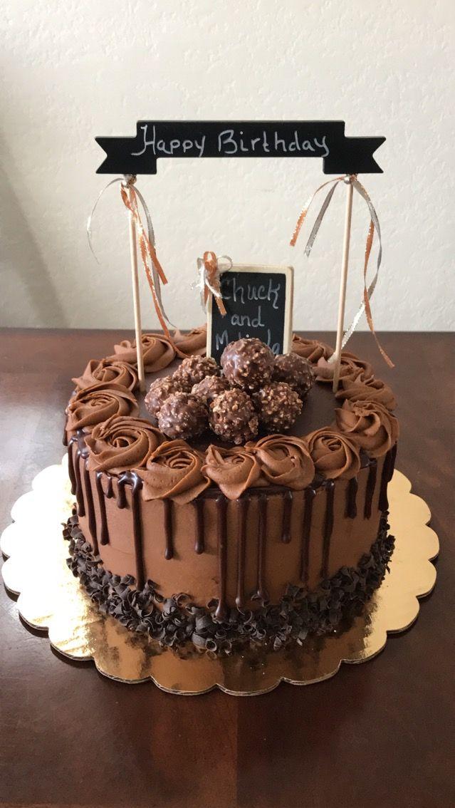 Chocolate Drip Birthday Cake My Creations In 2019