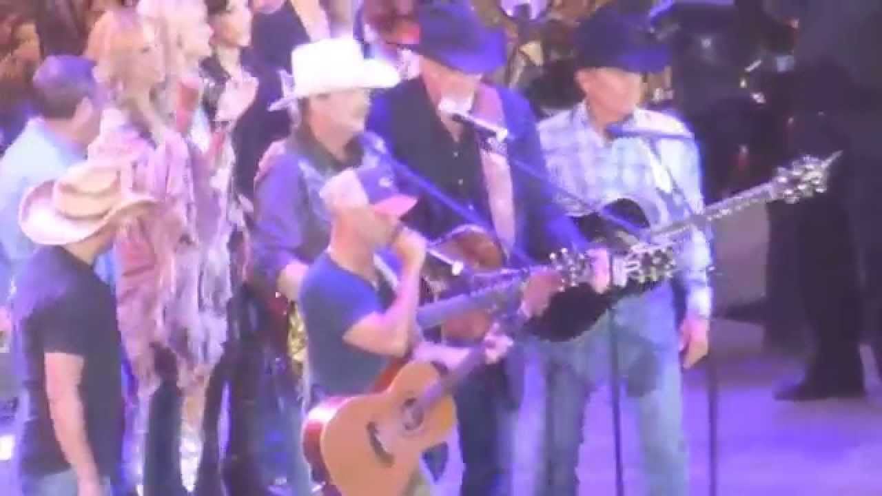 Strait and Friends All My Ex's Live in Texas