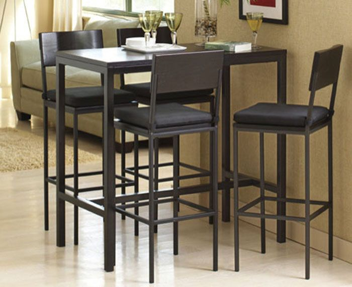 Tall Kitchen Table And Chairs Decor Ideas Tall Kitchen Table