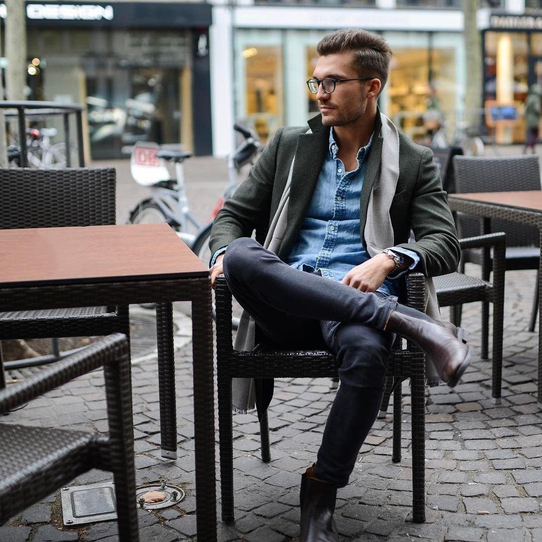 Los Mejores Looks En La Escena De La Moda De Las Calles De Todo El Mundo Para Hombres Streetstyle Fashion Mens Outfits Mens Fashion Rugged Mens Fashion Blog