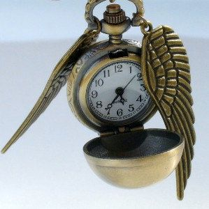 The Golden Watch-Necklace. $14.99, via Etsy.