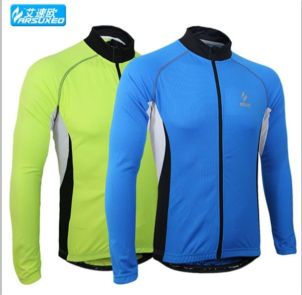 07402749b spring summer men sports cycling bike bicycle running long sleeves jersey  shirts wear top clothes sportswear