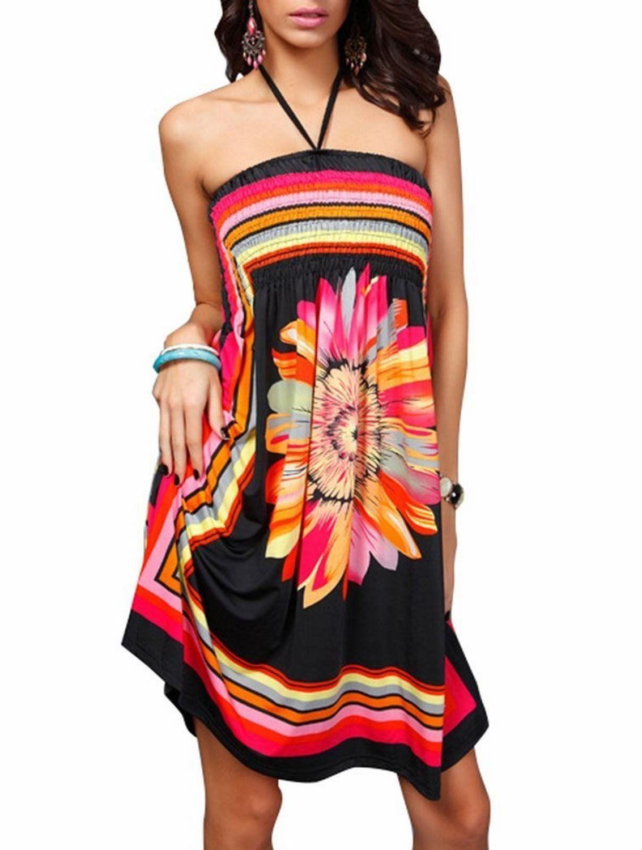 Sexy Womens Fashion Beach Wear Bikini Summer Swimsuit Cover Up Dress:Summer Fashion: Spring Outfits:Casual Outfits:Beach Outfits:Cute Outfits: Summer Dress
