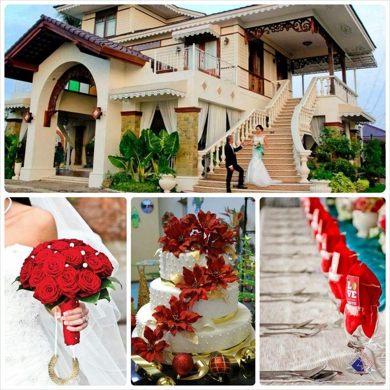 Christmas Themed Wedding Alta Veranda De Tibig Christmas Themes Christmas Bride Wedding