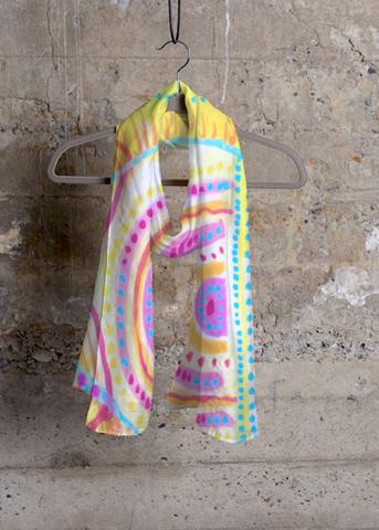 Cashmere Silk Scarf - Kaleidoscope Cashmere by VIDA VIDA daDnW