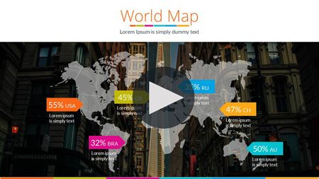 Continents&Countries PowerPoint Presentation   GraphicRiver