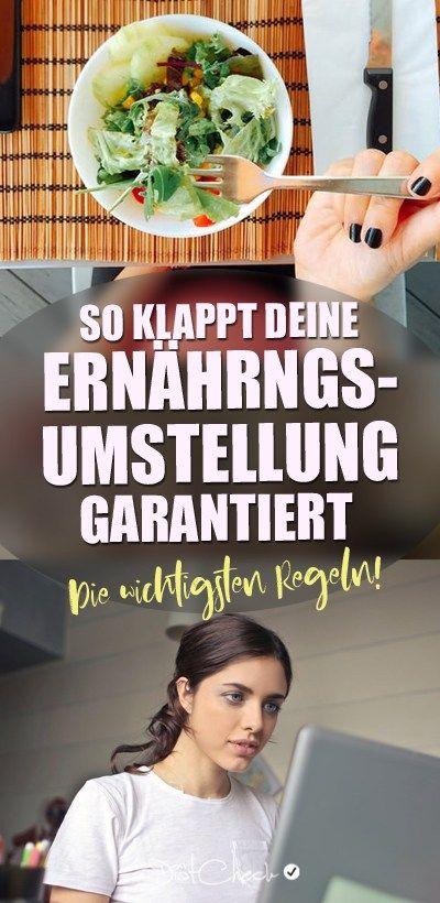 Photo of Ernährungsumstellung – Der 12 Schritte Plan zum Ziel!