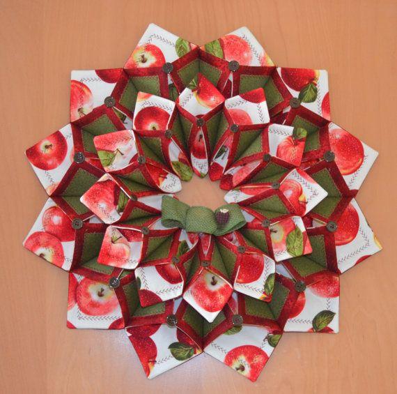 Www Fotoventasdigital Com Diy Burlap Wreath That Folding: Fold'n Stitch Wreath Von CountryInspireCreate Auf Etsy