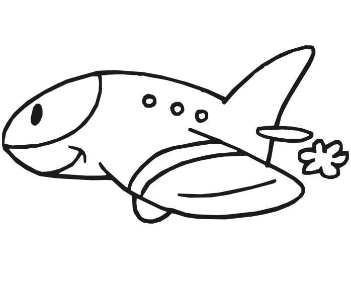 Airplane Coloring Pages To Print For Free http://procoloring.com ...