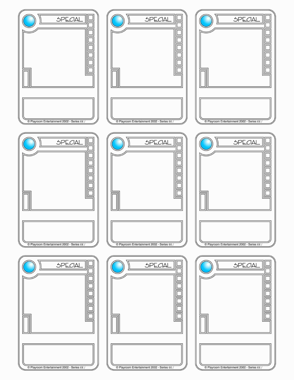 Trading Card Template Word Trading Card Template Blank Playing Cards Baseball Card Template