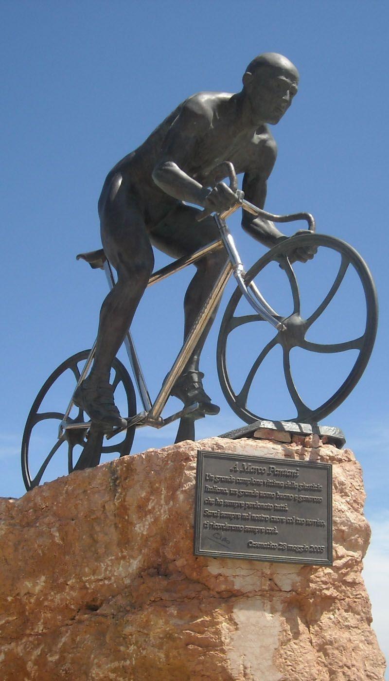 Monumento a Marco Pantani - Cesenatico | Pantani | Pinterest ...