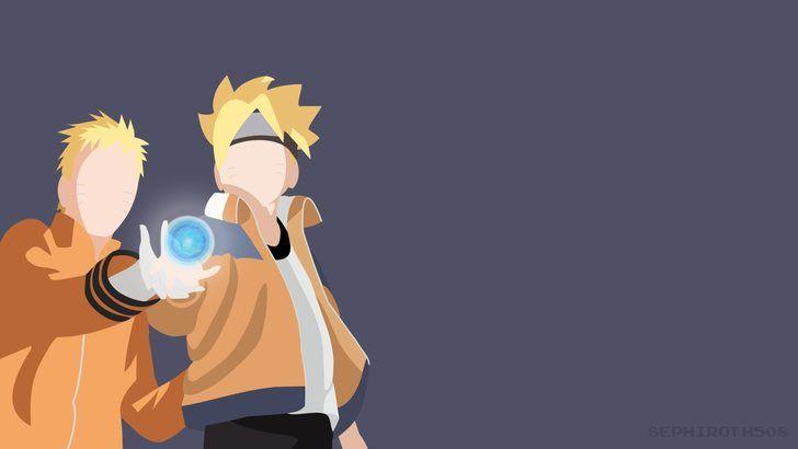 Naruto And Boruto Rasengan Minimalist Boruto Anime Wallpaper Anime