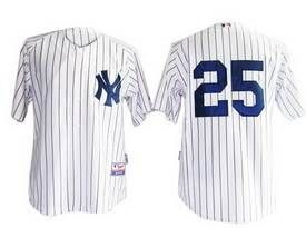 buy popular f4a1e 50d45 Teixeira Jersey, MLB New York Yankees #25 White JerseyPrice ...