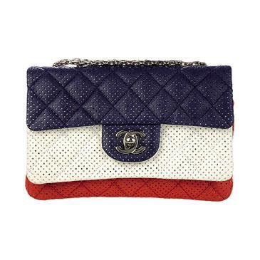 Chanel Love the red white and blue! :)