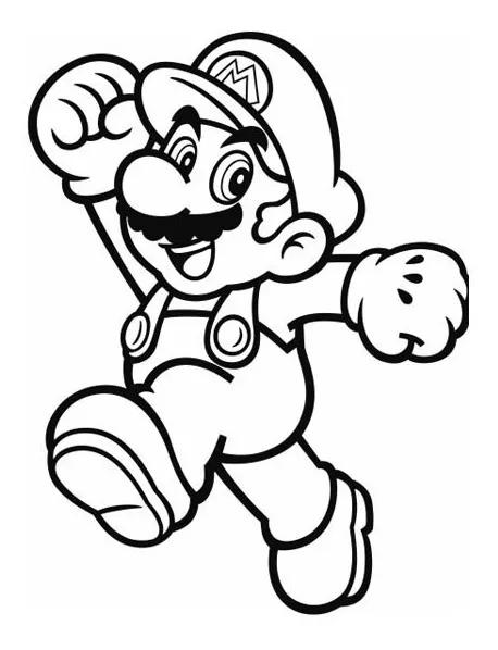 Super Mario Bros Libro Colorear O Crayolas 160 00 Mario Bros Para Colorear Mario Para Colorear Libro De Colores