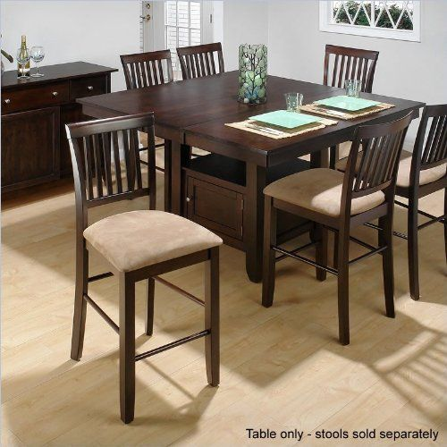 Genial Jofran Counter Height Dining Table With Butterfly Leaf In Bakeru0027s Cherry