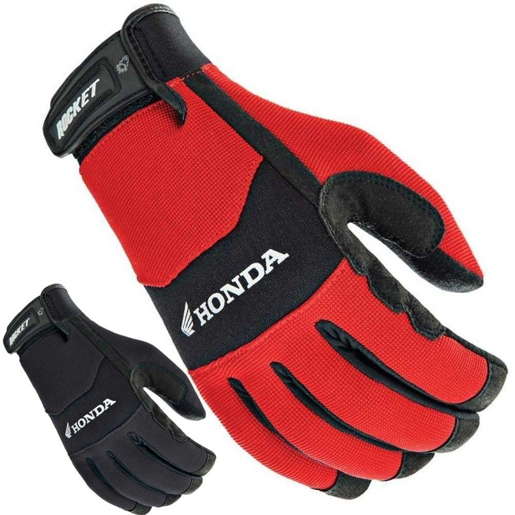 Joe rocket leather motorcycle gloves - 2015 Joe Rocket Street Riding Gear Mens Honda Crew Touch Motorcycle Gloves
