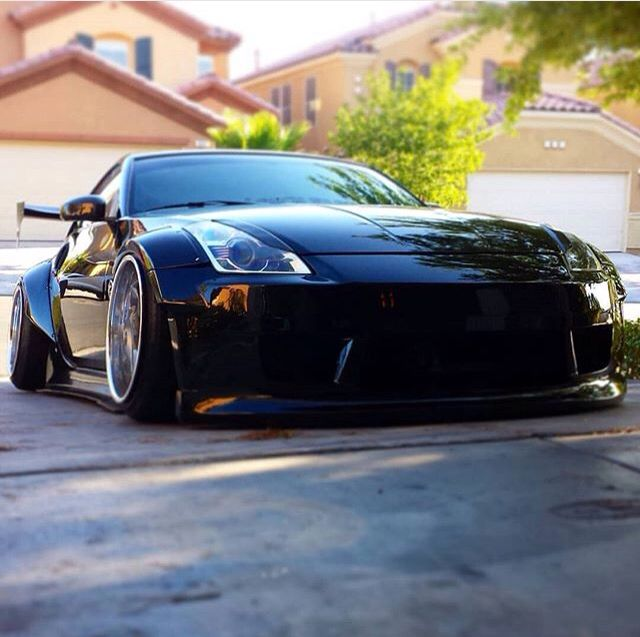 How low can you go 350z