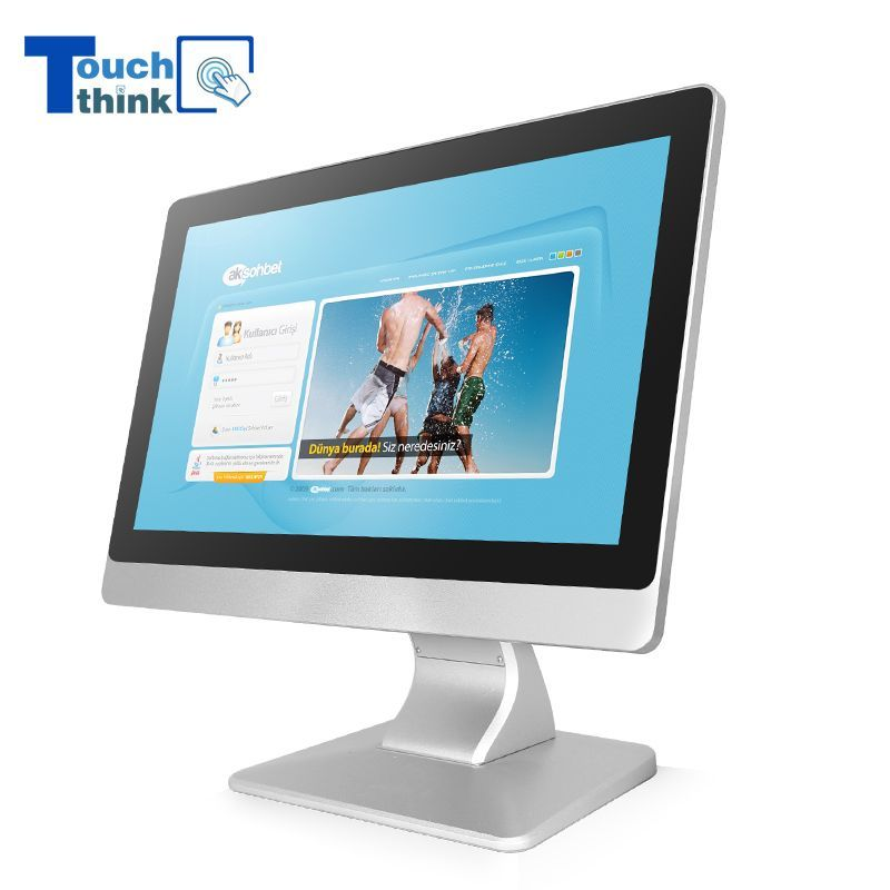 Industrial Monitor Wide Screen Display LED backlight 15.6 inch #touchscreendisplay Touch Think sunlight readable LCD industrial monitor displays offer high-performance capacitive, resistive  and non-touch screen in industrial-grade LCD flat panels, with thin flat front surface industrial design. The  touch screen LCD monitor are designed for indoor and outdoor applications, such as kiosks, self-service devices, digital signage applications. #touchscreendisplay