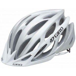 Giro Athlon Helmet Matte White Silver Closeout Mountain Bike Helmets Cycling Helmet Bike Helmet