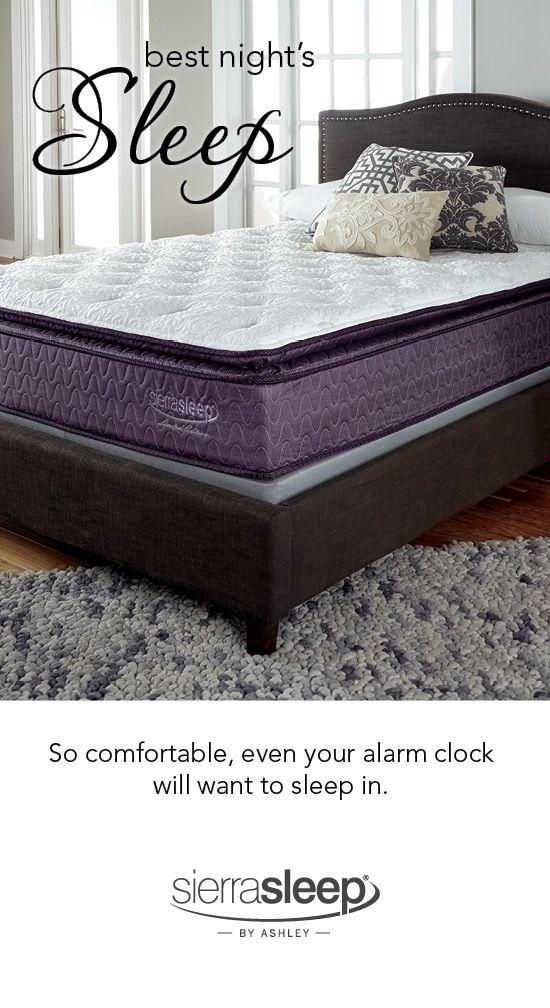 Get Your Best Night S Sleep Sierra Sleep By Ashley Mattresses