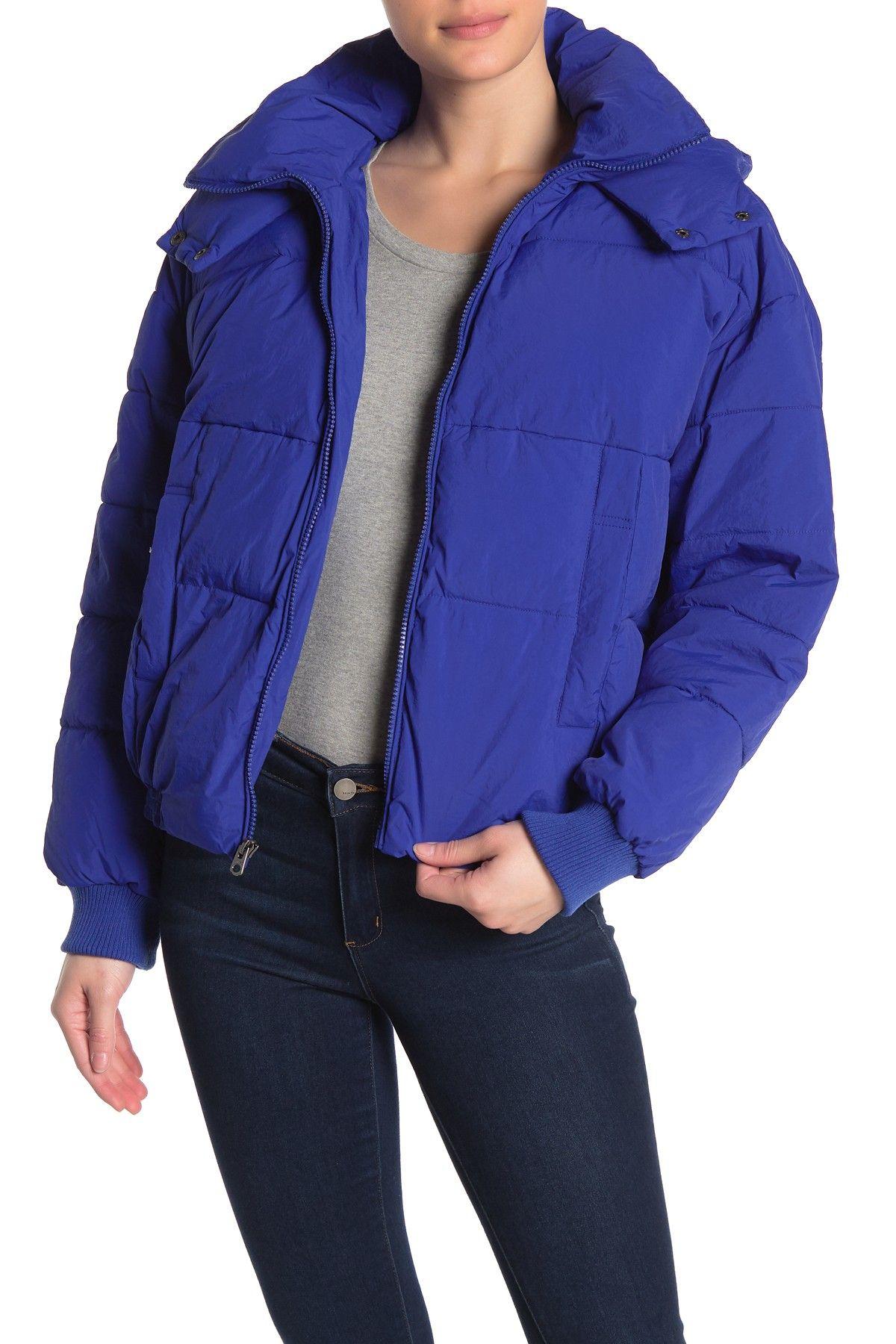 Lucky Brand Missy Short Puffer Jacket Nordstrom Rack Short Puffer Jacket Blue Puffer Jacket Puffer Jackets [ 1800 x 1200 Pixel ]