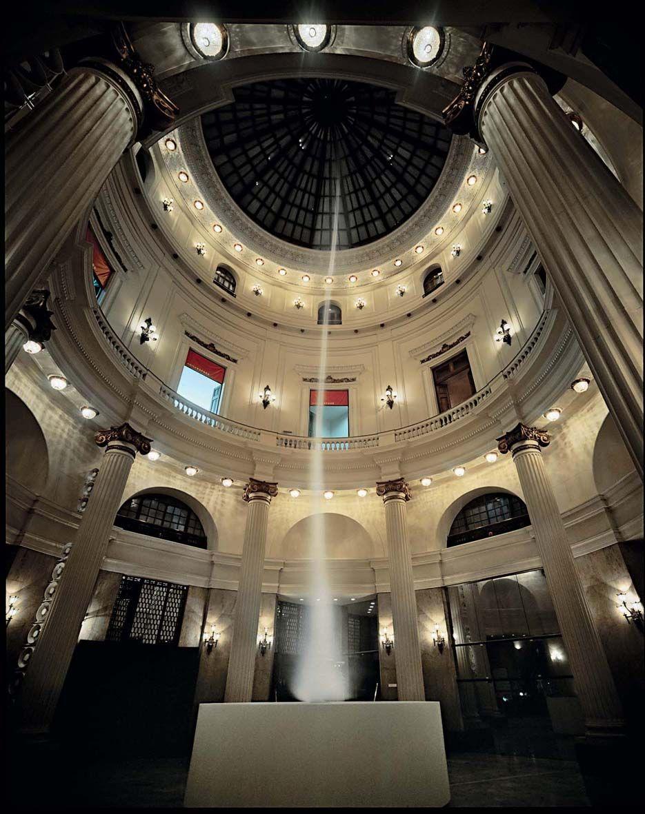 Anish Kapoor's Ascension installation in the Basilica di San ...