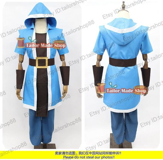 coc castle wizard cosplay costume blue zb2 fashion pinterest