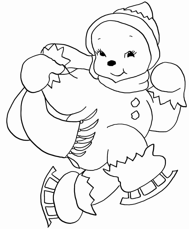 Kawaii Christmas Coloring Pages Awesome Christmas Coloring