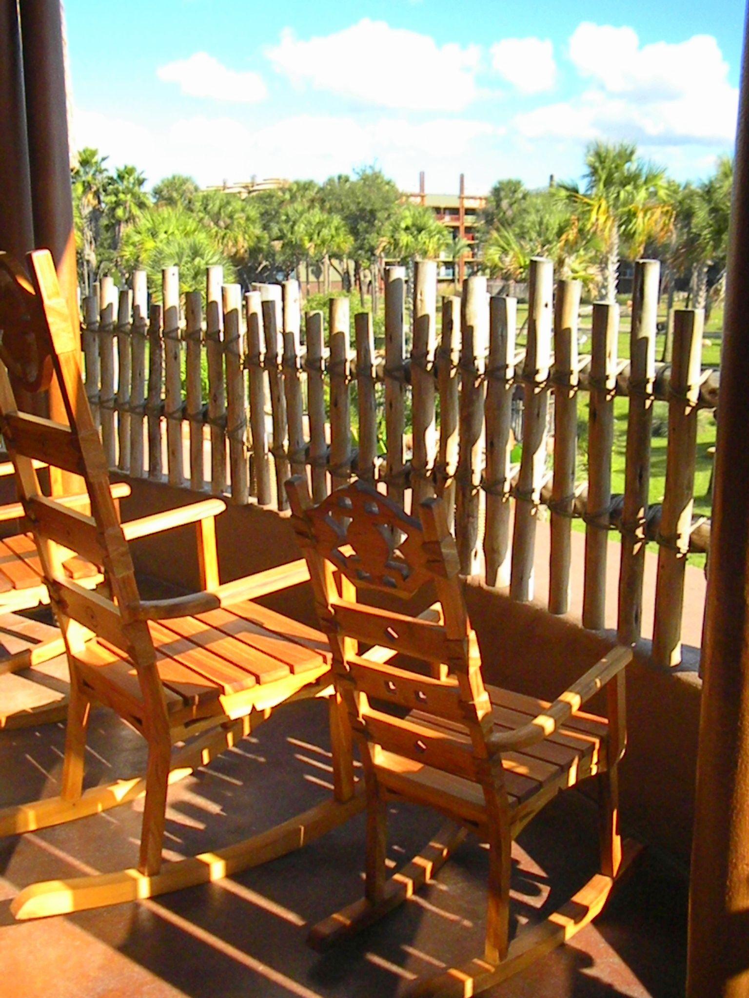 Animal Kingdom Resort Rocking Chair View & Animal Kingdom Resort: Rocking Chair View   Amazinu0027 Disney Resorts ...