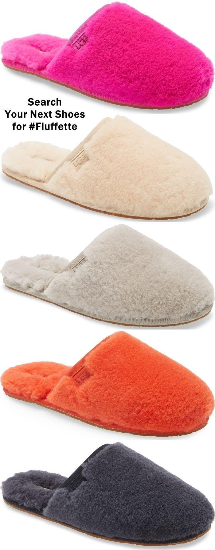 Cozy UGG Fluffette Wool Slippers in
