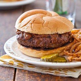 Grilled Steak Burgers