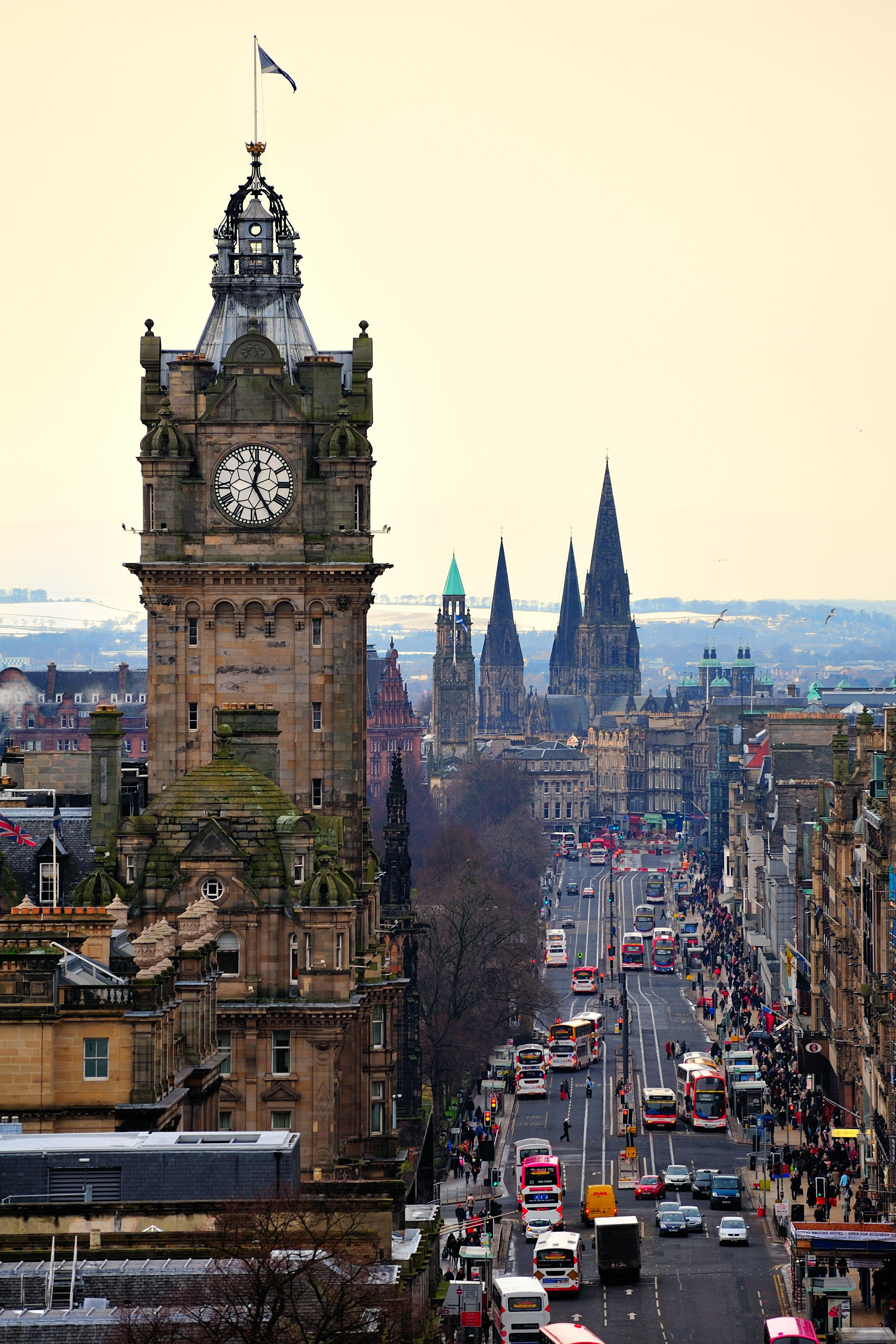 Royal Mile Edinburgh Scotland Edinburgh Edinburgh Castle Travel Dreams