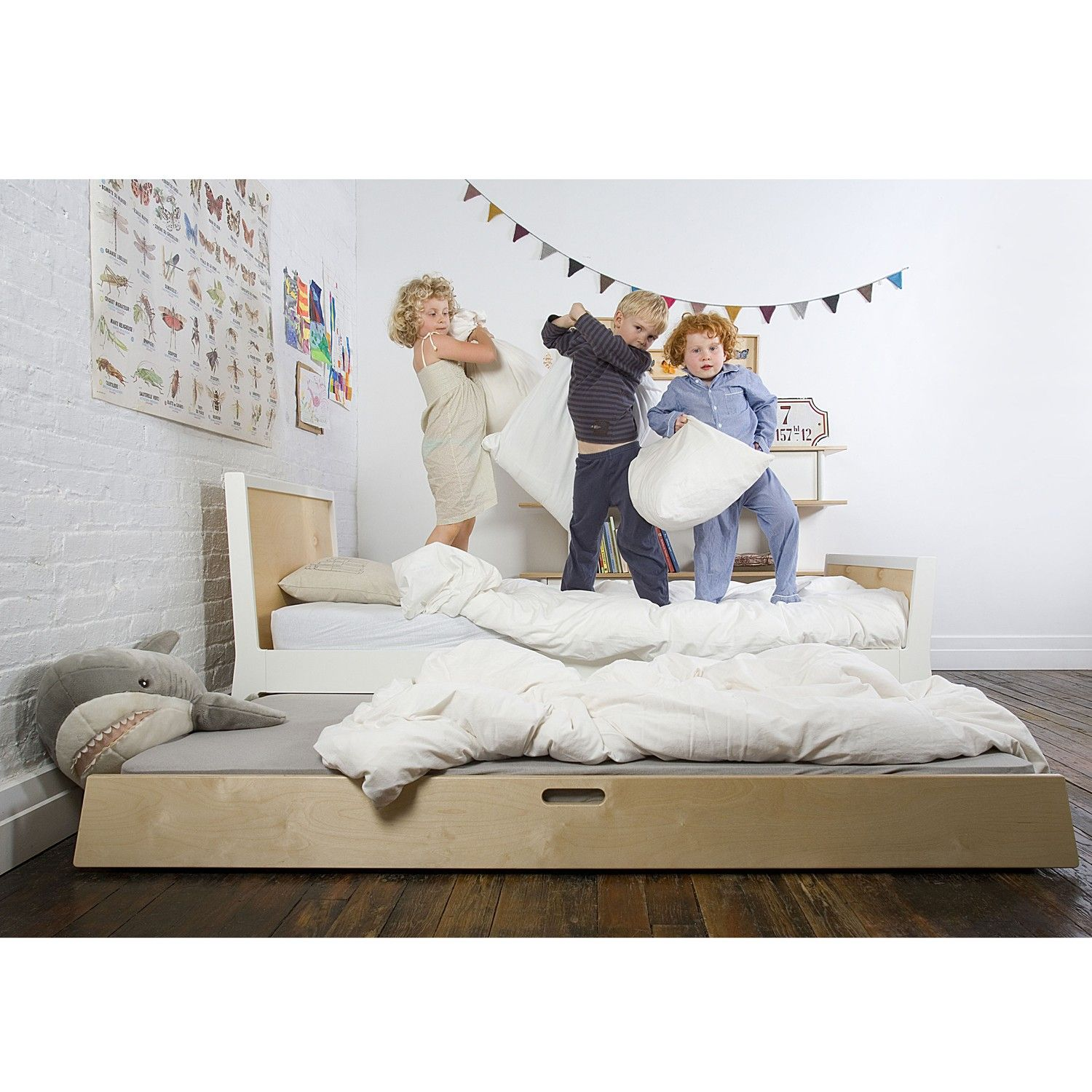 The versatile Sparrow Trundle Bed is a useful addition to
