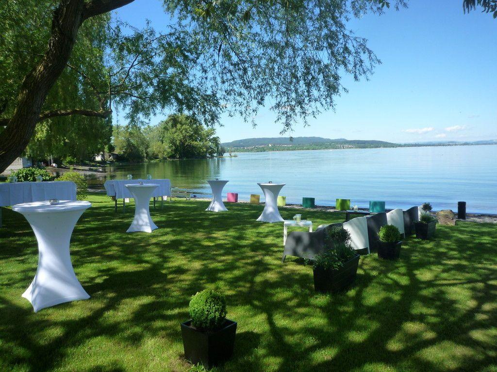 Sektempfang In Der Lounge Von Sekt Am See Hochzeit Familienfeier Empfang