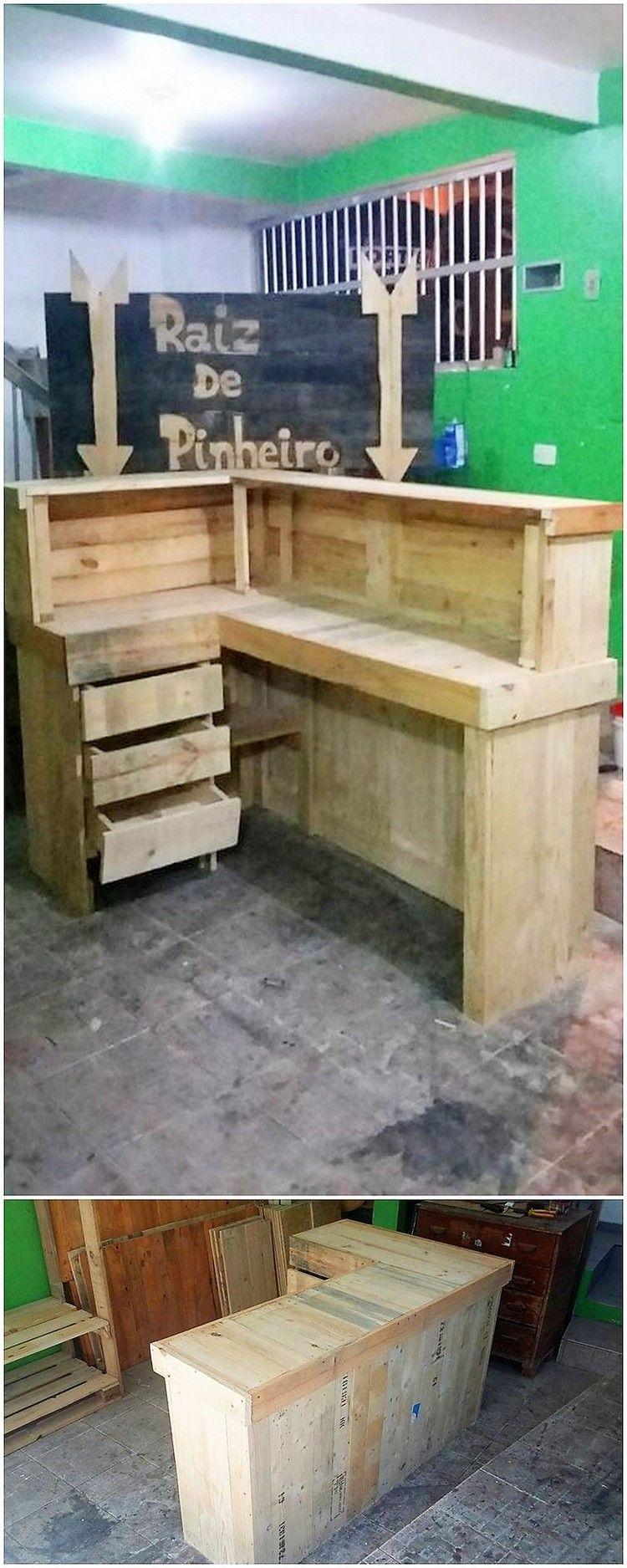 Paletten Schreibtisch Kleine Ecke Schreibtisch Mit Paletten 3mobel