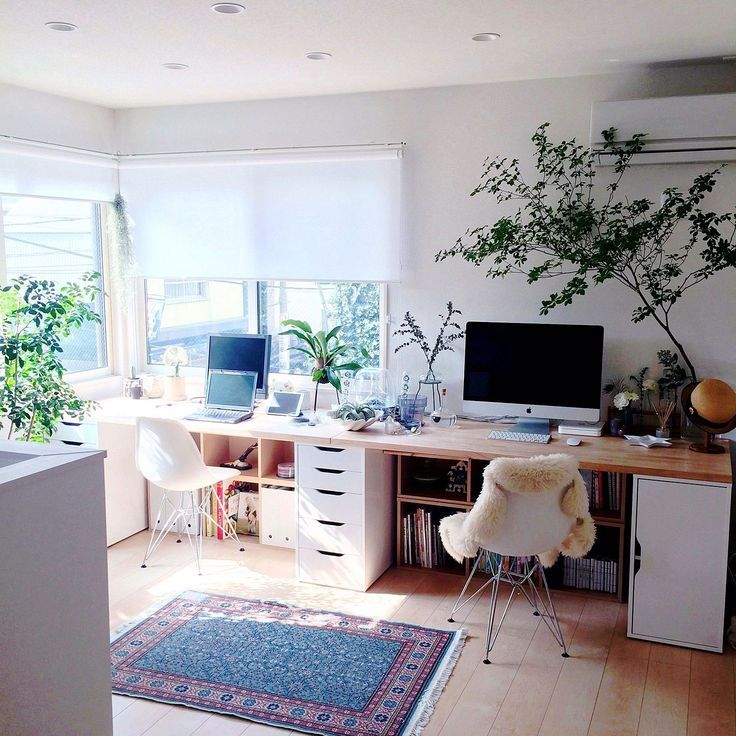 Office In The Living Room Photo Living Room Office PT Maya AD 7 ...