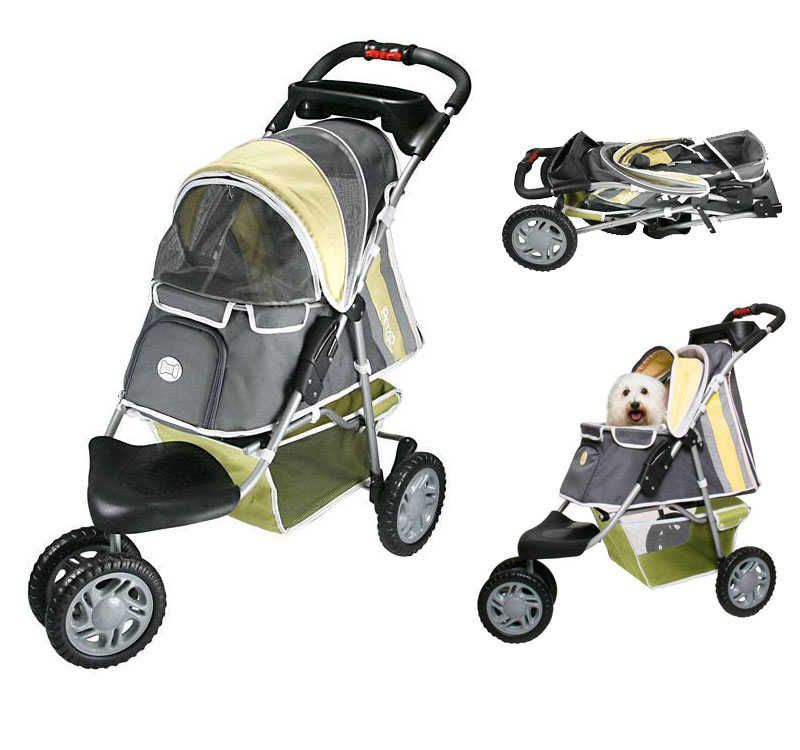 Pet Stroller XL - The Pet Stroller XL is a fashionable, stylish pet stroller that is great for night time use.  For more details and selection please visit http://www.petstreetmall.com/Pet-Strollers-and-Dog-Strollers/1504.html